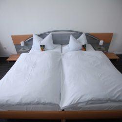 Vierbettzimmer - Blick auf das Bett