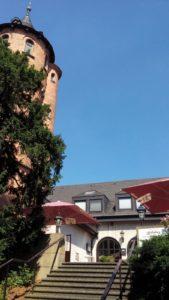 Hotel Grillenburg von außen