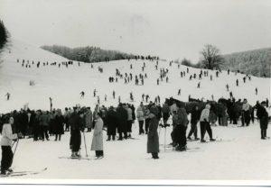 Sehr altes foto vom Zuckerfeld