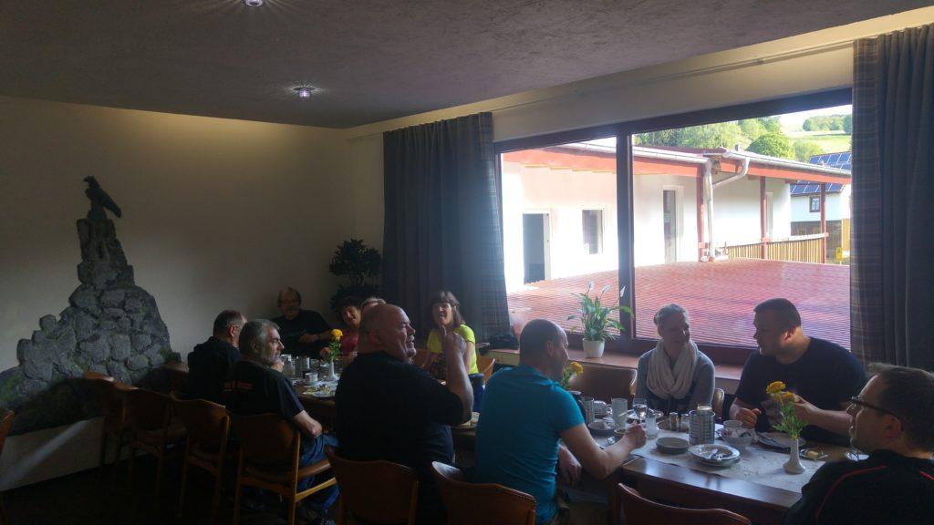 Nordhessenbiker Frühstück