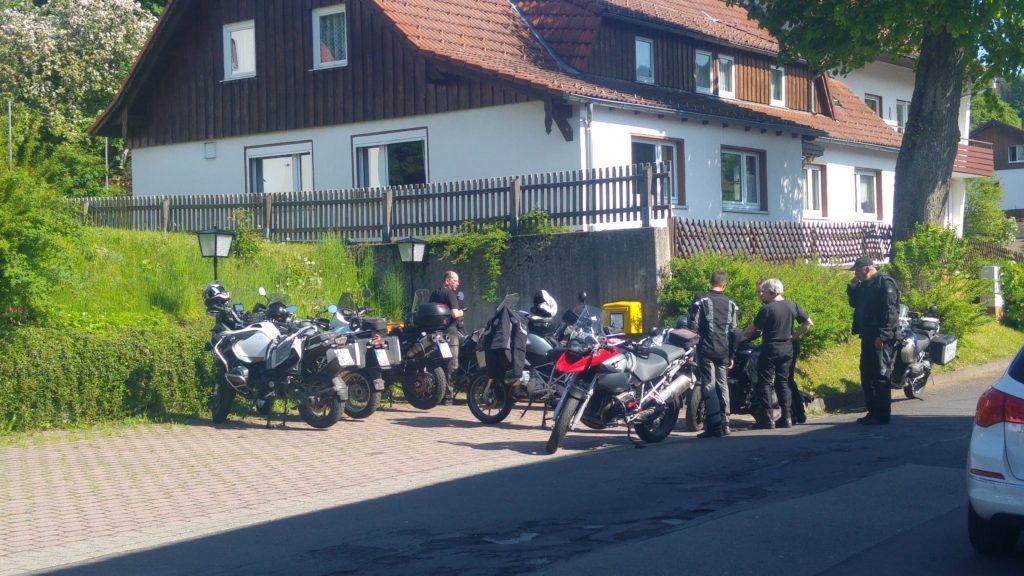 Nordhessenbiker Parkplatz, Motorradgruppe