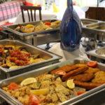 Fischbuffet - Nahaufnahme
