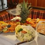 Fischbuffet - Lachsplatte