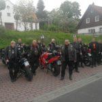 Bikergruppe - Gruppenbild