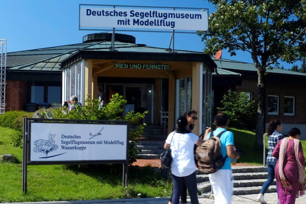 Segelflugmuseum - Eingangsbereich
