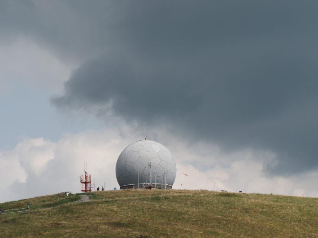 Wasserkuppe, Radom, Radar